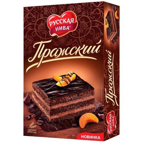 Торт Русская нива Пражский 400 г