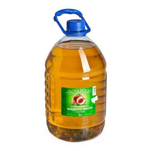 Купить Мыло жидкое Зодиак Персик прозрачное, 5 л