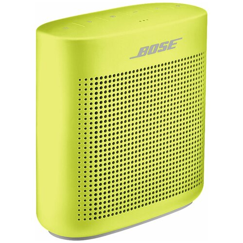 Портативная акустика Bose SoundLink Color II, yellow citron