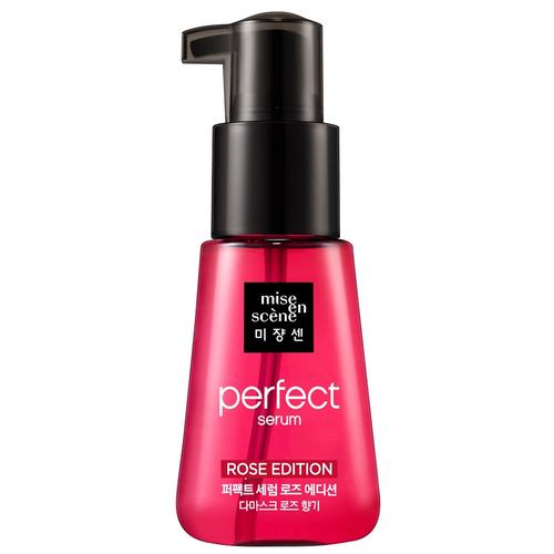 Mise en Scene Perfect Serum Rose Edition Восстанавливающая сыворотка для волос с маслом дамасской розы, 70 мл