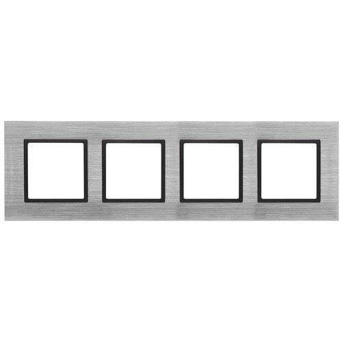 Рамка 4-постовая ЭРА Elegance 14-5204-41 Б0034563