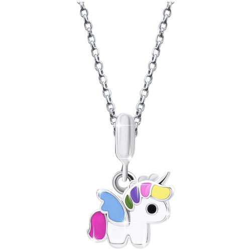 UMa & UMi Детский серебряный кулон подвеска Единорожек UMI Magic Pets 319570000608