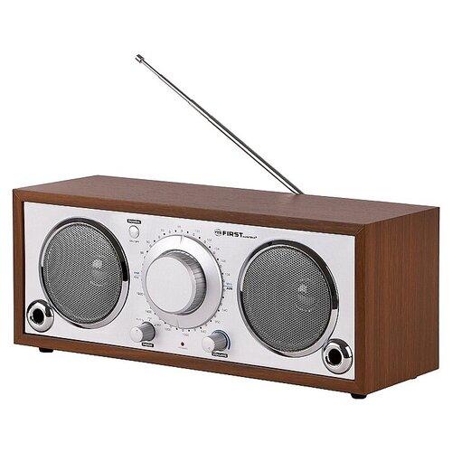 Радиоприемник FIRST AUSTRIA FA-1907-1 silver/wood недорого