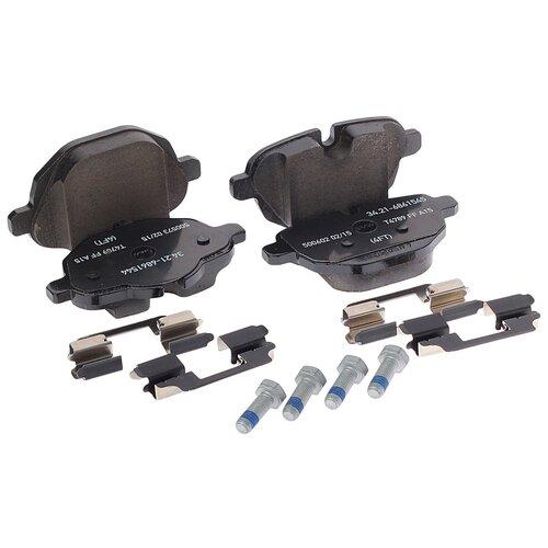 Дисковые тормозные колодки задние BMW 34216862202 для BMW 5 series, BMW X3, BMW X4 (4 шт.)