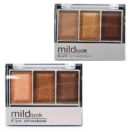 MildLook Набор из 2 палеток теней 5033 04/13 недорого