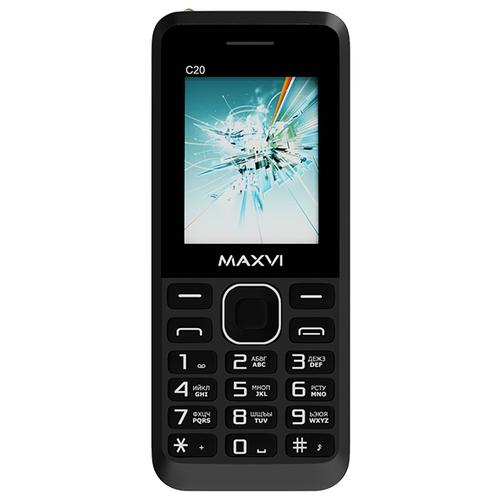 Телефон MAXVI C20, черный