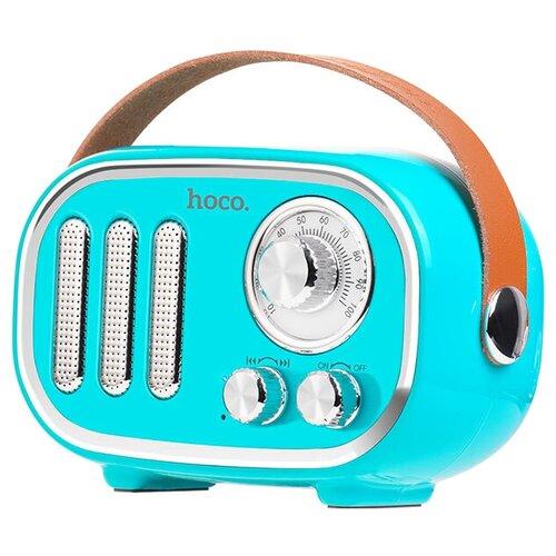 Портативная акустика Hoco BS16 Voice reminder, blue