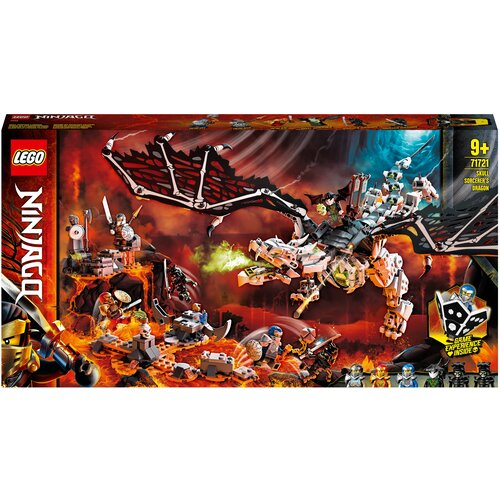 Конструктор LEGO Ninjago 71721 Дракон чародея-скелета lego lego ninjago императорский храм безумия