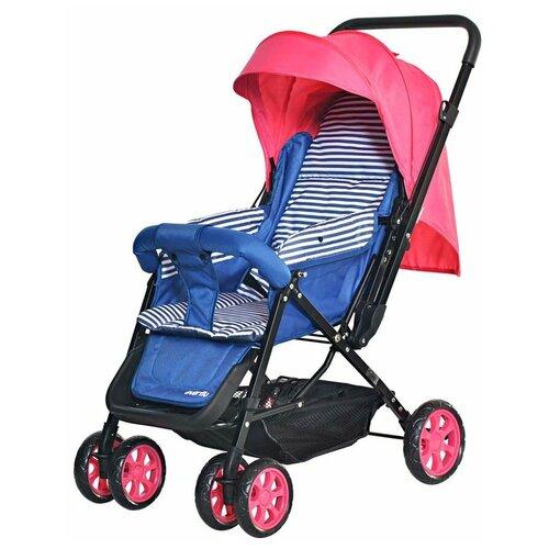 Прогулочная коляска everflo E-200 Range, pink everflo каталка everflo машинка smart car m001 pink