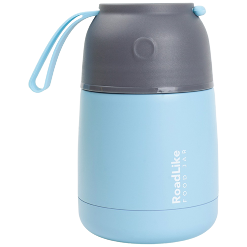 Термос для еды RoadLike Jar 420мл, голубой