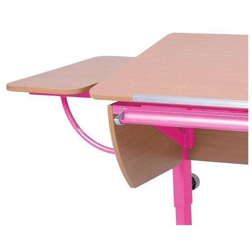 Приставка к столу Астек-Элара боковая приставка к партам бук/розовый