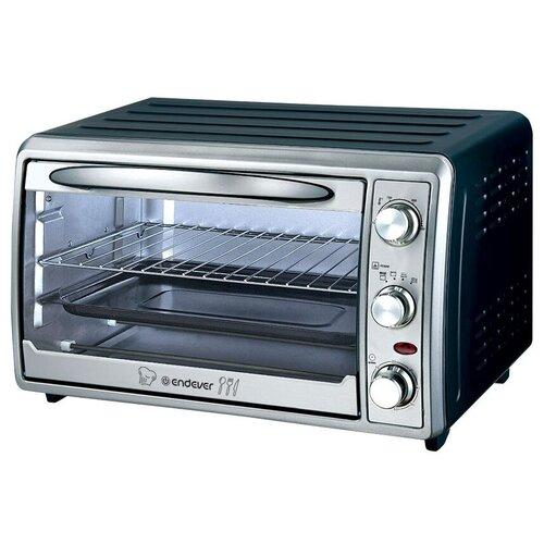 Фото - Мини-печь ENDEVER Danko 6030 черный/серебристый мини печь pioneer mo5015g серебристый