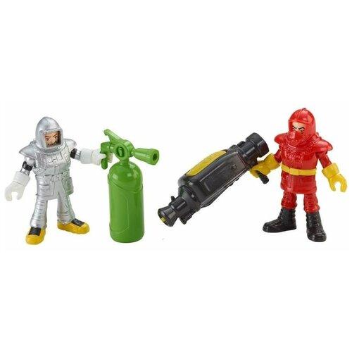 Купить Игровой набор Fisher-Price Imaginext Городские спасатели Пожарная команда CFC15, Игровые наборы и фигурки