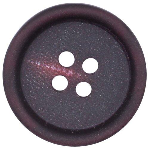 Купить 3AR158 Пуговица на прокол 34L (бордовый), 36 шт, Astra & Craft, Пуговицы