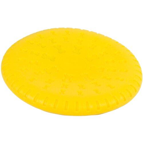 Фрисби для собак КАСКАД Steam плавающая (27799003) желтый