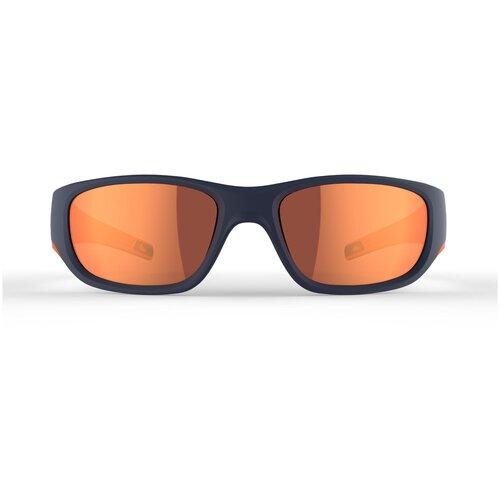 очки солнцезащитные для походов детские mh k120 2–4 лет категория 4 quechua x декатлон Детские солнцезащитные очки MH T550 QUECHUA X Декатлон