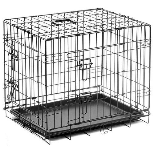 Клетка для собак ZooOne 06003 75х48х53 см черный