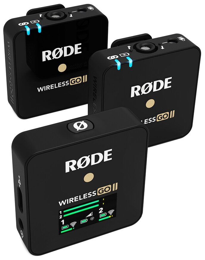 Радиосистема RODE Wireless GO II