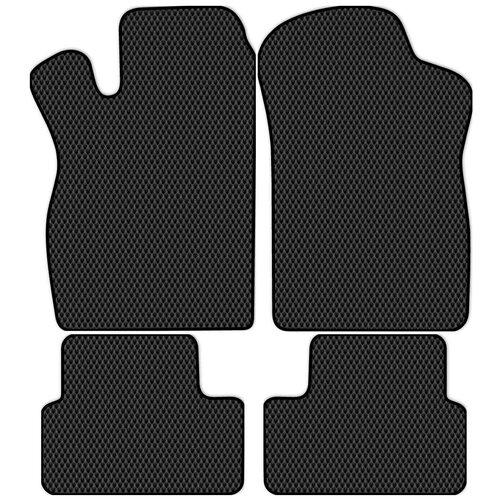 Автоковрики Allmone EVA черные - Лада 2114 Самара (хэтчбек, седан) 1997 - 2013