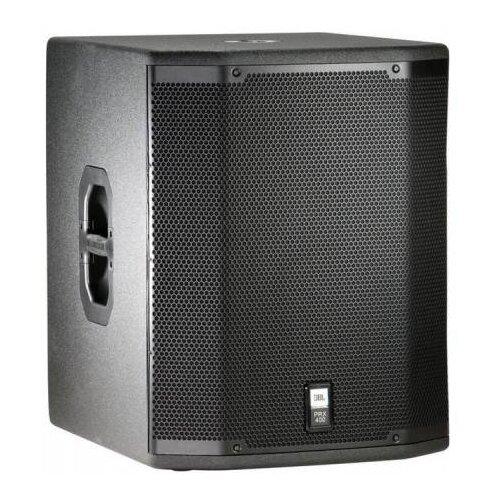 JBL PRX418S Компактный сабвуфер 800Вт/1600Вт/3200Вт(продолжительная/программная/пиковая),Макс SPL -130дБ, 8 Ом, 36кг, М20 стакан