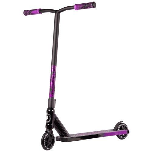 Трюковой самокат Plank Kore, черный/фиолетовый