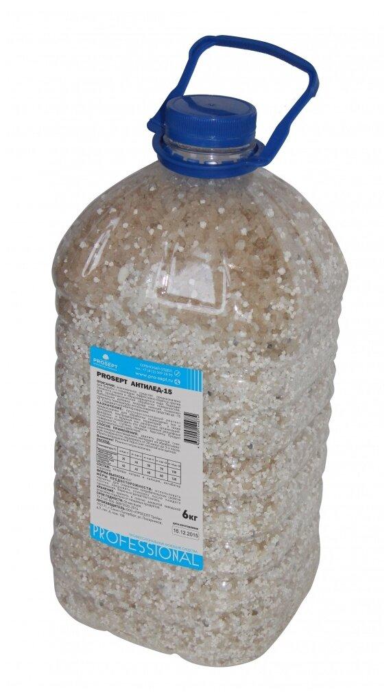 Противогололедный реагент PROSEPT Антилёд-15