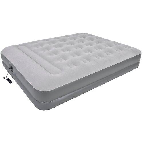 Кровать надувная JILONG QUEEN,с эл.насосом, 203х157х37 см