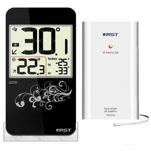 Термометр RST 02251, черный