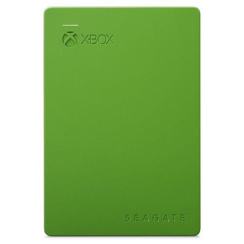 Seagate Внешний жесткий диск Game Drive для Xbox 2 ТБ (STEA2000403) зеленый