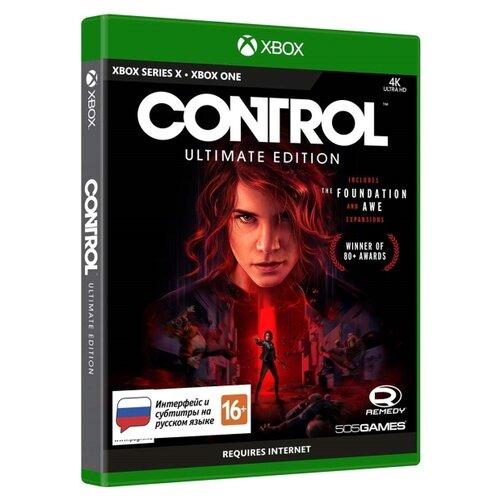 Игра для Xbox ONE/Series X Control. Ultimate Edition, русские субтитры