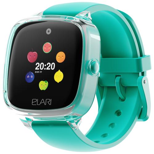 Детские умные часы ELARI KidPhone Fresh, зеленый недорого