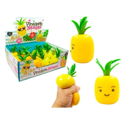 Игрушка-мялка Junfa toys Pineapple squeeze (1809-SQ099A/1) желтый