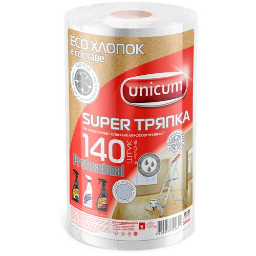 Тряпка Unicum Super тряпка Professional 140 шт, белый