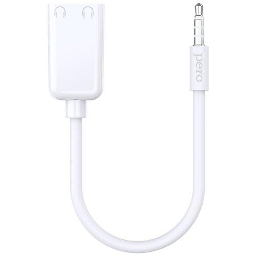 Аудио разветвитель PERO AD06 AUX SPLITTER белый