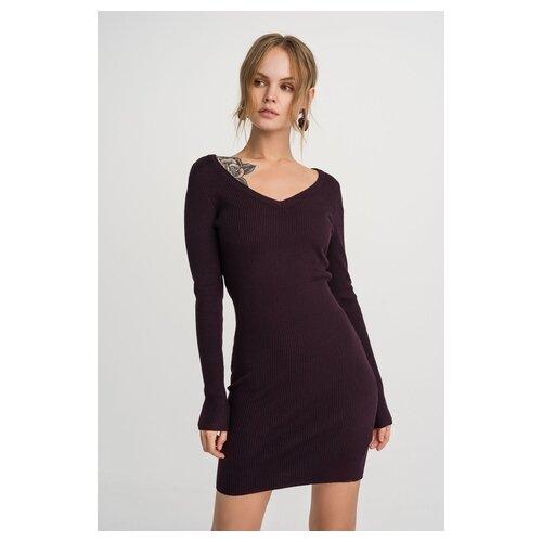 Платье befree 1931548598 женское Цвет Бордовый бордовый71 Однотонный р-р 48 L юбка quelle befree 1024253