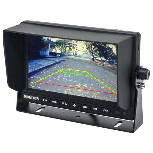 Автомобильный монитор AVEL AVS4714BM (AHD) черный