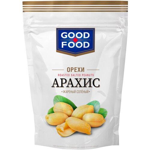 Арахис GOOD FOOD жареный соленый, 150 г арахис good food жареный с медом и кунжутом 130 г
