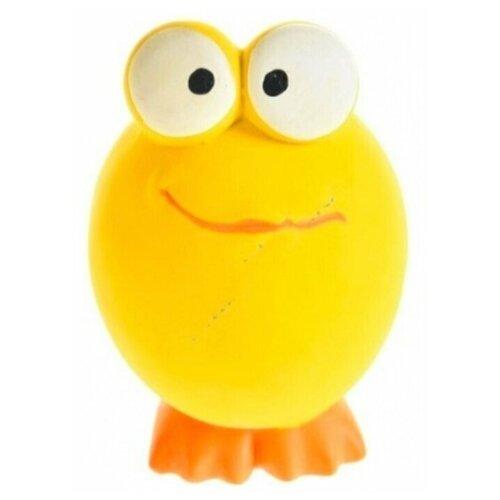 Игрушка для собак Homepet Головастик (72524) желтый