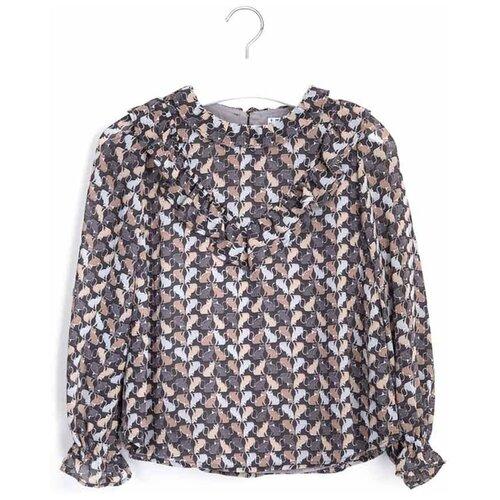 Блузка Mayoral размер 157, серый