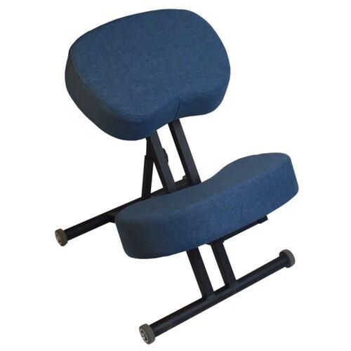 Коленный стул ОЛИМП Комфорт синий