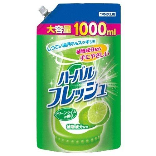 Mitsuei Средство для мытья посуды Лайм, 1 л недорого