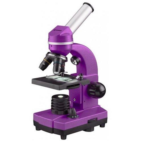Фото - Микроскоп Bresser Junior Biolux SEL 40–1600x, фиолетовый микроскоп bresser junior biolux sel 40 1600x blue 74322
