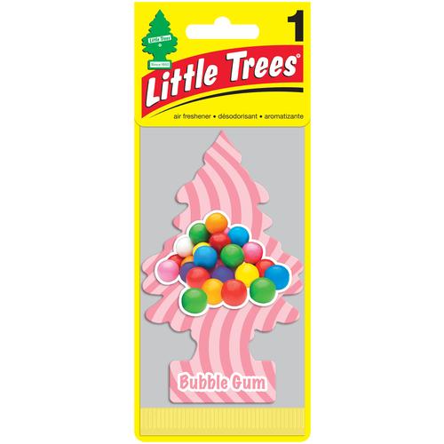 Little Trees Ароматизатор для автомобиля Ёлочка Бабл гам (Bubble Gum) little trees ароматизатор для автомобиля ёлочка не курить no smoking