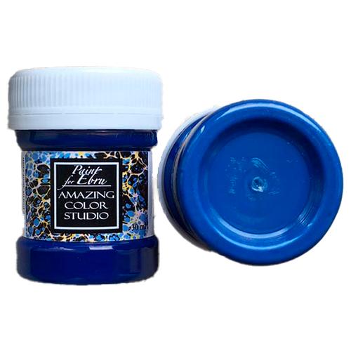 Краска для эбру синяя 30 мл, Amazing Color