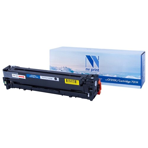 Фото - Картридж NV Print CF210X/NV-731Н Black для HP и Canon, совместимый картридж nv print cf280x ce505x для hp совместимый