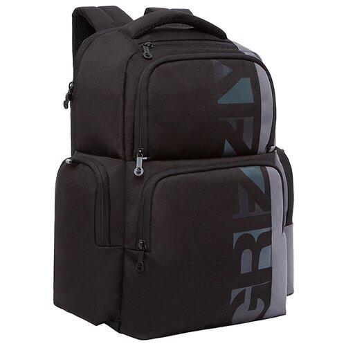 Купить Grizzly RU-133-1, черный/серый, Рюкзаки, ранцы