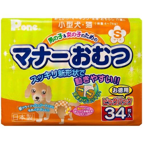 Подгузники для собак Japan Premium Pet PMO-633 34 шт.