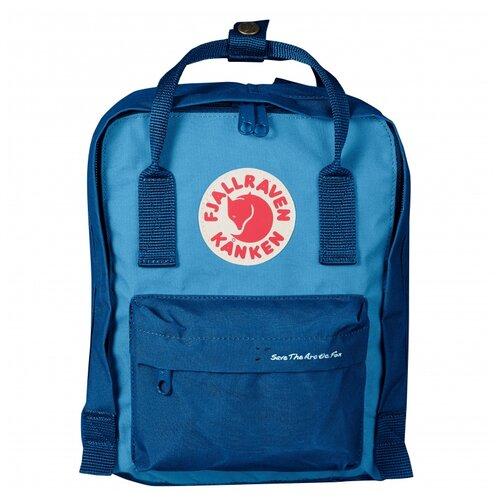 Городской рюкзак Fjallraven Kånken Mini 7, lake blue-air blue городской рюкзак fjallraven re kånken 16 un blue