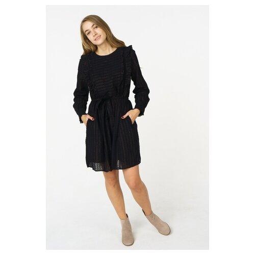Платье Scotch & Soda 133.18FWLM.0888146606.08 женское Цвет Черный Однотонный р-р 42 XS