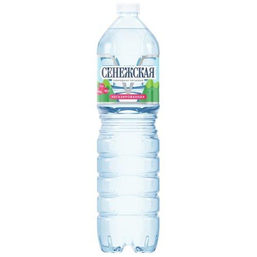 Вода питьевая Сенежская негазированная, ПЭТ, 1.5 л вода минеральная сенежская негазированная пэт 1 5 л